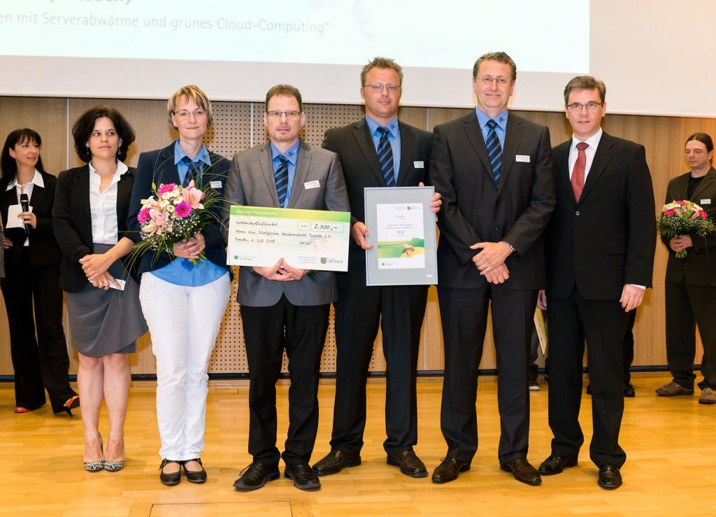 SMUL Preisverleihung Sächsischer Umweltpreis 2013