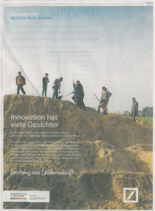 Die Welt Anzeige Deutschbank mit VÖG 2014-11-18 Seite 11